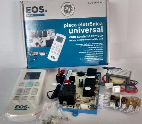 Placa Eletrônica Universal C/ Controle Split Eos