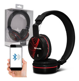 Fone De Ouvido Headphone Wave Wireless P2 Preto Shutt