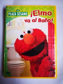 Plaza Sésamo Elmo Va A La Escuela Dvd Original