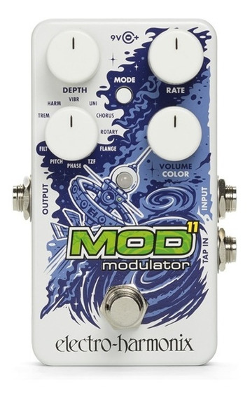 Pedal Ehx Mod11 Modulator C/ Nf-e & Garantia Envio Imediato