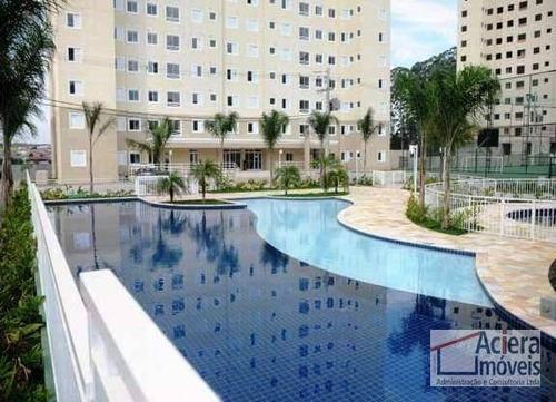 Spazio Club Barueri - Apartamento Com 2 Dormitórios À Venda, 69 M² - Vila Iracema - Barueri/sp. - Ap0338