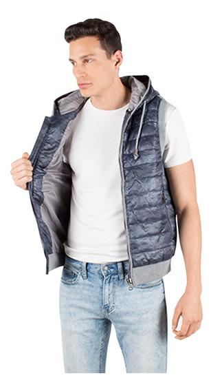 Chaleco Hombre Greenlander Moda Vpol6383 Tejido Espalda