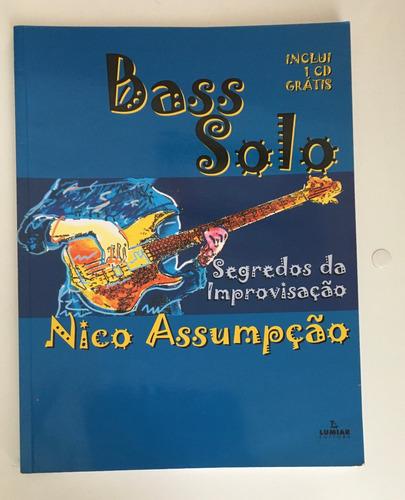 Imagem 1 de 3 de Livro Bass Solo - Segredos Da Improvisação