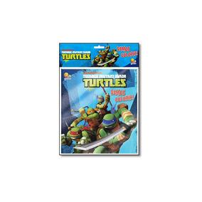 Livro - Teenage Mutant Ninja Turtle - Coleção Vamos Colori