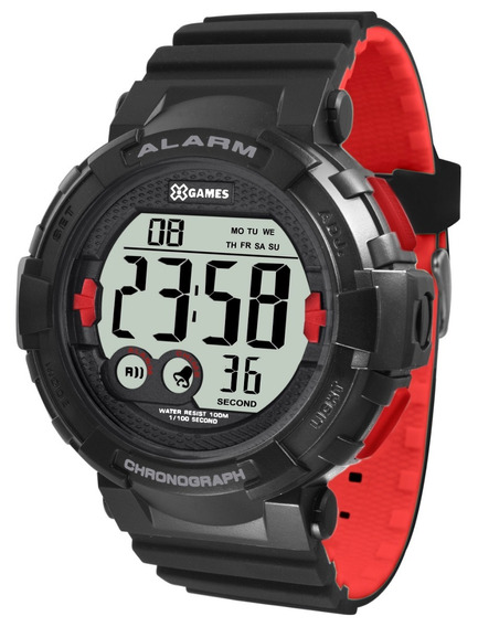 Relógio X-games Masculino Digital Xmppd529 Bxpv Vermelho