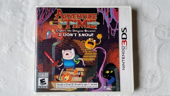 Adventure Time Explore The Dungeon Because I Dont Know! 3ds