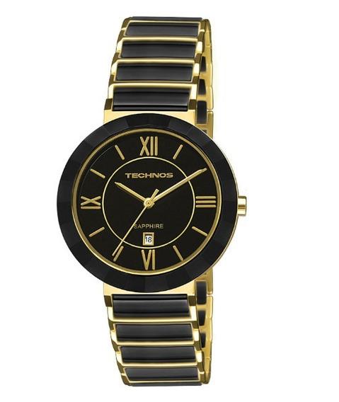 Relógio Technos Feminino Cerâmica Safira 2015ce/4p