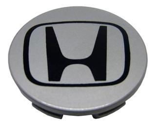 Centro Llanta Rueda Honda Gris Plata Cr-v Civic 70mm
