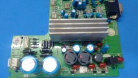 Placa Fonte E Amplificador Som Philips Mcm 299