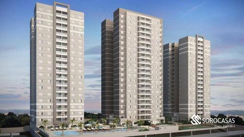 Apartamento Com 3 Dormitórios À Venda, 97 M² Por R$ 680.000,00 - Condomínio Residencial La Vista Moncayo - Sorocaba/sp - Ap1214