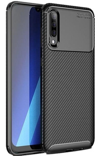 Forro Estuche Protector Carbon Samsung A10 A20 A30 A50 A70