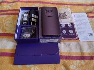 Motorola One Zoom - Violeta O Mais Top Da Linha One