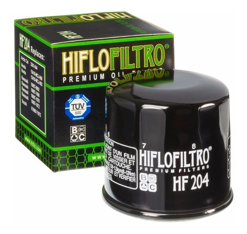 Filtro Aceite Yamaha R3 Mt03 Mt07 Mt09 Fz6 Xt1200z Hf204