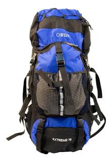 Owen Mochila De Viaje Camping Mochilero Trekking 75lt A103