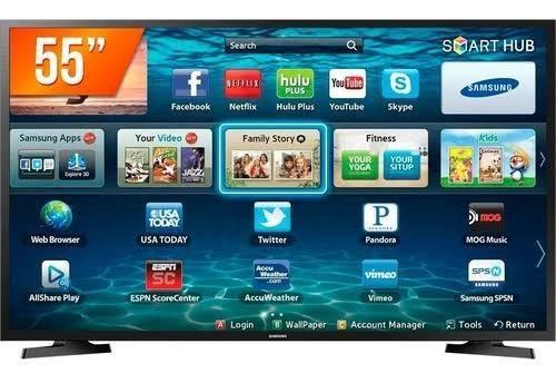 Smart Tv 55 Samsung 4k Wi-fi Youtube Netflix