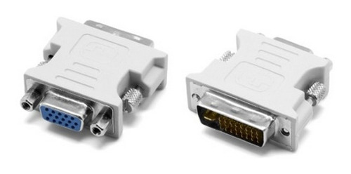 Adaptador De Video Xtech Dvi Macho A Vga Hembra 720/p Cobre