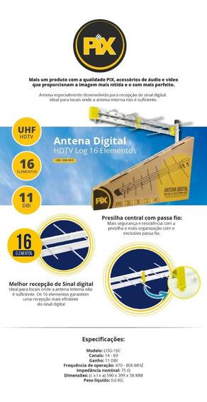 Antena Digital Externa Full Hd Uhf Hdtv - Mega Oferta !