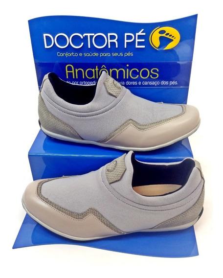 Tênis Feminino Extra Confortável Doctor Pé 40048