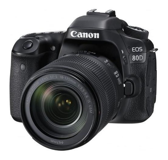 Camara Canon Eos 80d Kit 18-135mm