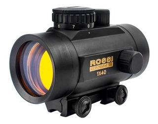 Luneta Dot Rossi P/ Carabina Pressão Espingarda Trilho 11mm