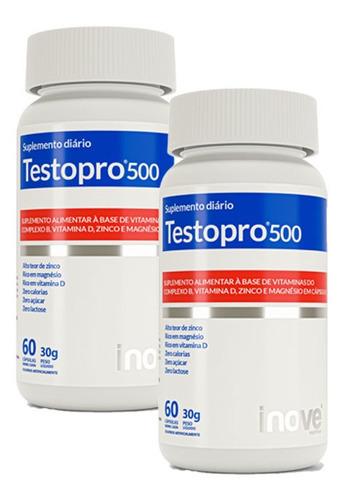 Imagem 1 de 4 de 2x Testopro500 - 60 Capsulas - Inove Nutrition