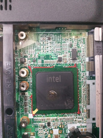Motherboard Placa Laptop Hp Dv 6000 Con Detalle Pa Reballing