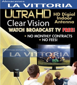 Antena Tv Digital Ultra Hd Clear Vsion Interior