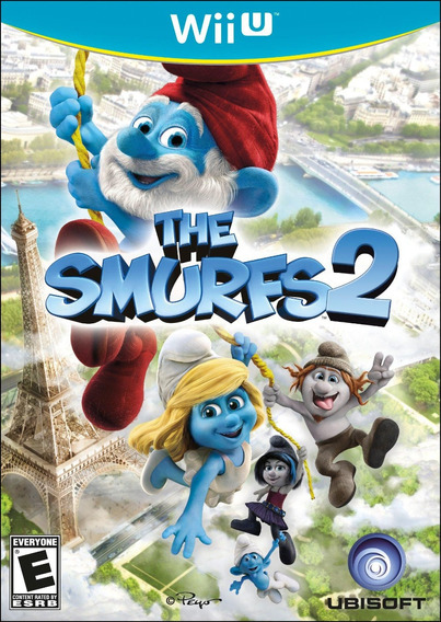 The Smurfs 2 Nintendo Wii U Mídia Física Envio 12,00
