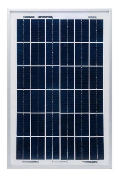 Módulo Fotovoltaico Policristalino 10w Sistema De 12v Epcom