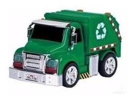Camión Recolector De Residuos Pull Back