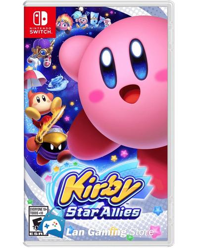 Kirby Star Allies Nintendo Switch Nuevo - Poster Gratis