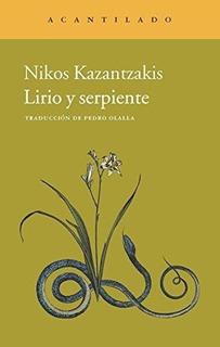 Lirio Y Serpiente, Nikos Kazantzakis, Acantilado
