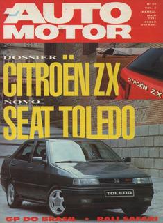 Auto Motor N°23 Citroen Zx Seat Toledo Ford Scorpio 24v Audi