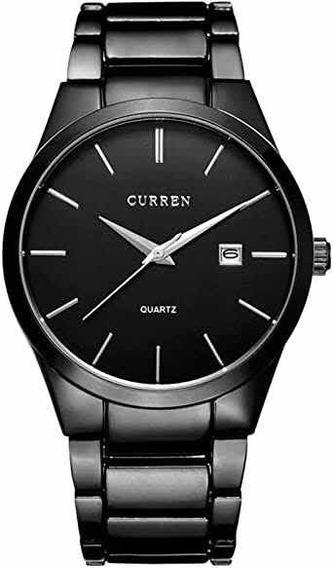 Curren Reloj Para Hombres Diseño Ejecutivo