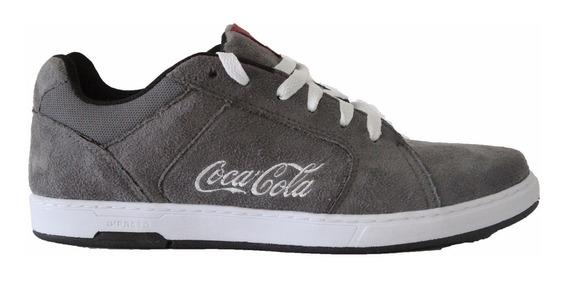 Tenis Masculino Coca Cola Bordado Sapatenis Macio Top