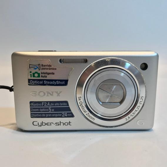 Câmera Sony Cyber-shot Dsc-w380 Prata 14.1 Mega Pixels