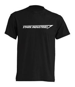 Camiseta Estampada Stark Industries