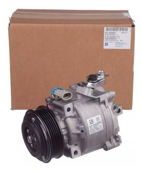 Compressor Ar Cond Spin/onix/prisma/cobalt Orig. Gm 52149016