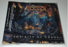 Accept - The Rise Of Chaos (cd Lacrado)