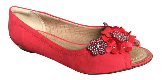 Sapatilha Floral Piccadilly 70718 Nobuck