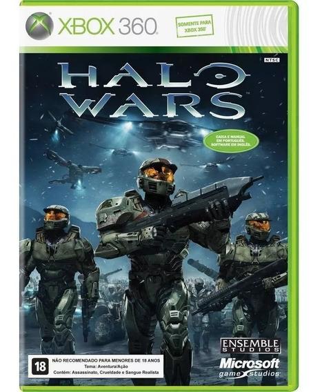Jogo Lacrado E Original Halo Wars Xbox 360