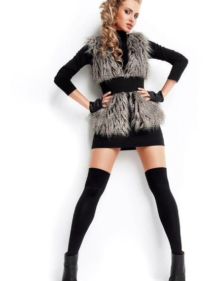 Calcetas Largas Negras Arriba De La Rodilla Increíbles Sexys