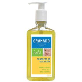 Sabonete Líquido De Glicerina Tradicional - 250 Ml - Granado