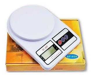 Balança Cozinha Alimentos 10kg Precisão Digital Sf-400 Unli@