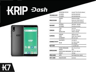 Krip K7 (3g) 1gb+16gb Liberado Para Todas Dual-sim Tienda