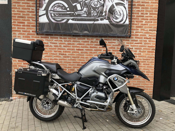 Bmw R 1200gs Premium 2016 Com As 3 Malas Traseiras