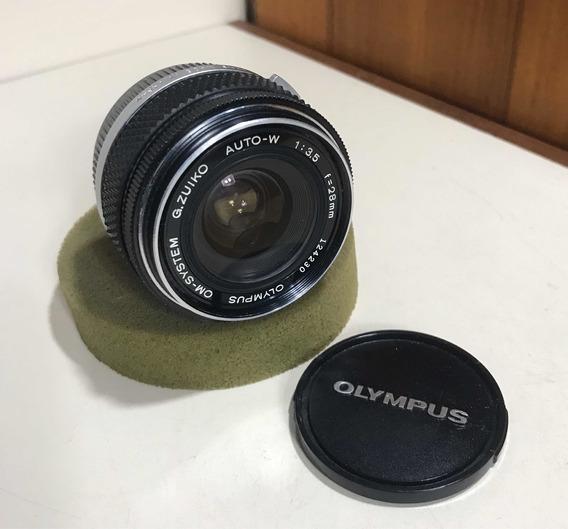 Lente Olympus Om 1:3.5 F=28mm G.zuiko Auto W Grande Angular
