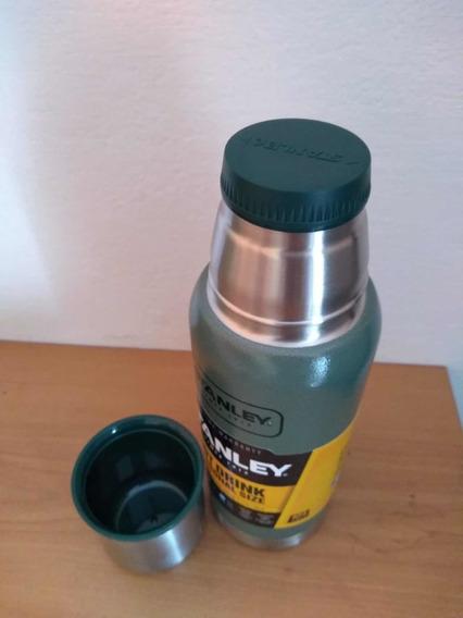 Liquido Termo Stanley Adventure 1/2 Litro Color Verde
