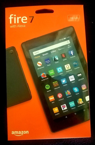 Tabla Amazon Fire 7 With Alexa 16gb