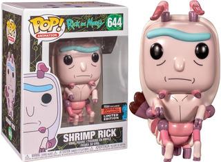 Funko Pop! Rick & Morty Shrimp Rick #644